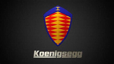 koenigsegg logo koenigsegg logo 3d cgtrader