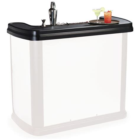 portable bar top carlisle 754703 portable bar replacement top for maximizer