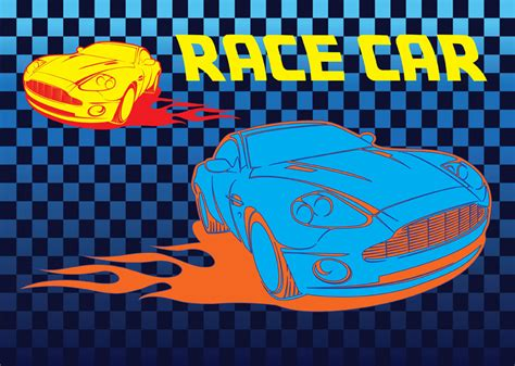 race car vector vector art graphics freevectorcom