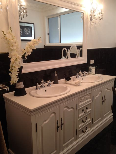 French Provincial Bathroom Vanity Romeo1500 Double Basin Provincial Bathroom Vanity