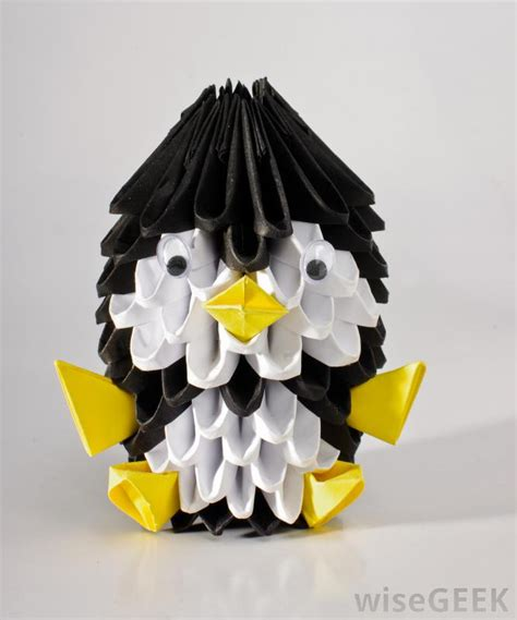 what are the different types of 3d paper crafts