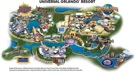 Map Of Universal Studios Orlando by Universal Studios Map Universal Studios Map Orlando