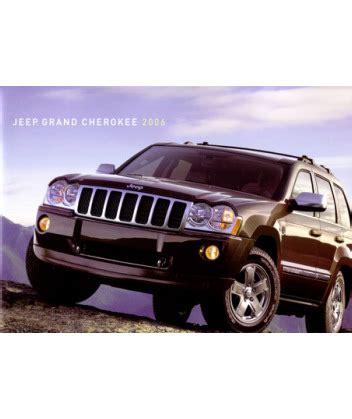 Jeep Grand Paint 2006 Jeep Grand Sales Brochure Paint Chips