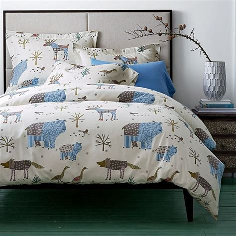 winter comforter sets winter forest flannel duvet cover covered in whimsical