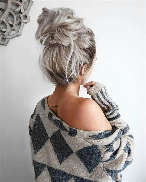 70s bun hairstyles pin by halina babiarz on moda rzeczy do noszenia