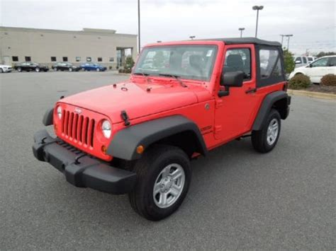 Rock Lobster Jeep New 2013 Jeep Wrangler Sport 4x4 For Sale Stock 13098