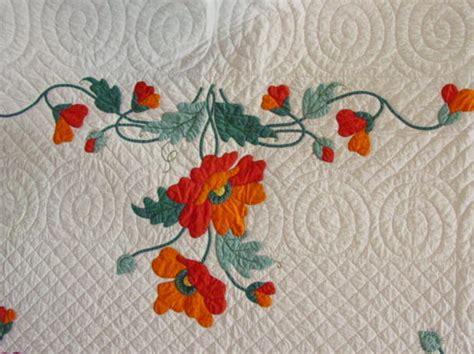 Poppy Applique Quilt Pattern by Poppy Applique Quilt How To Applique