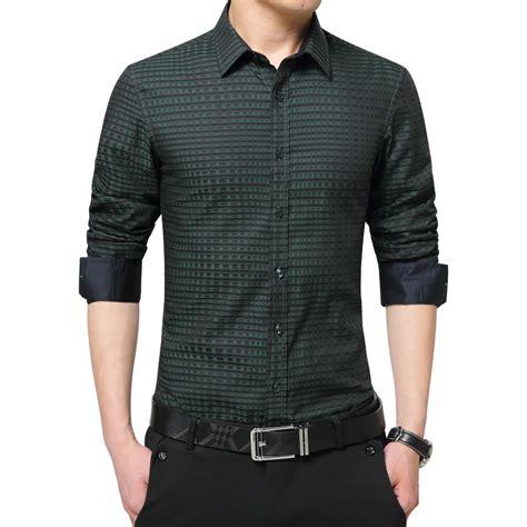 brand mens shirts fashion 2016 autumn luxury