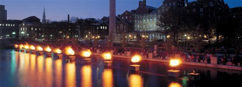 Clingstone about waterfire waterfire providence