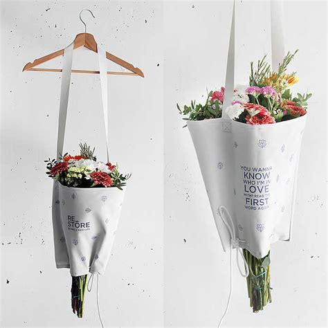 flower bouquet bag by re store upcycledzine