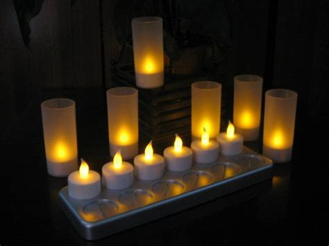 aliexpress buy 12pcs rechargeable led candle light