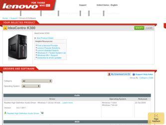 Lenovo K300 Ideacentre 5316 Driver And Firmware Downloads