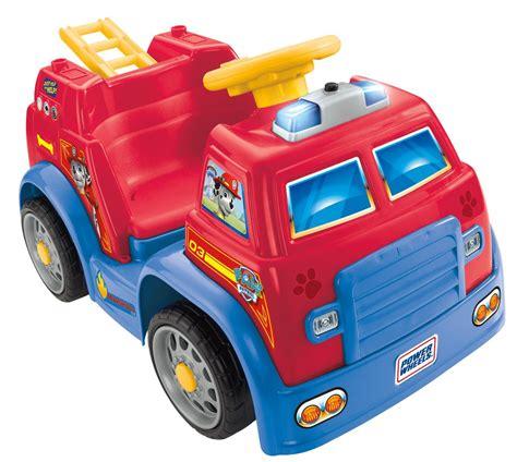 paw patrol power wheels amazon com power wheels paw patrol truck toys