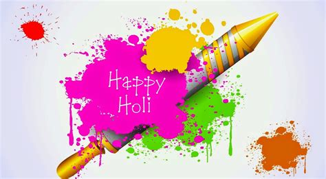 color of happy happy holi color splash hd wallpaper