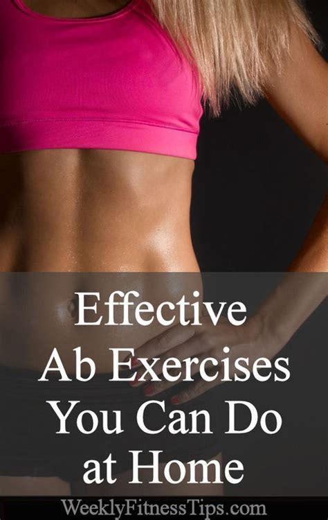 effective ab exercises at home home ab exercises and