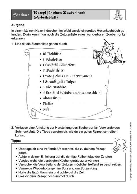 Word Vorlage Bedienungsanleitung Unterrichtsmaterialien 183 Grundschule 183 Lehrerb 252 Ro