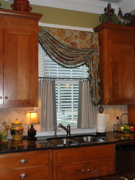 kitchen window valances ideas kitchen curtains