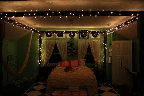 christmas lights in a bedroom tumblr bedrooms