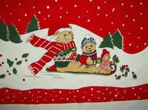 granny s fabulous finds vintage christmas tablecloths