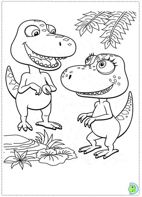 dino train coloring page dinokids org