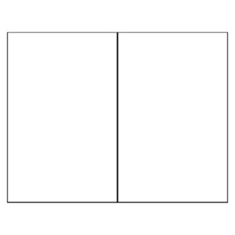 card template word half fold envelope template for 5x7 card 25 best ideas about