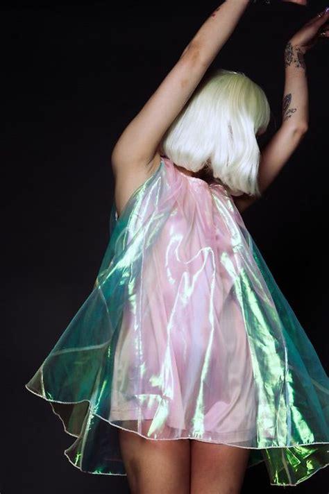 Cloein Dress clear plastic dress a bit of grunge n some other