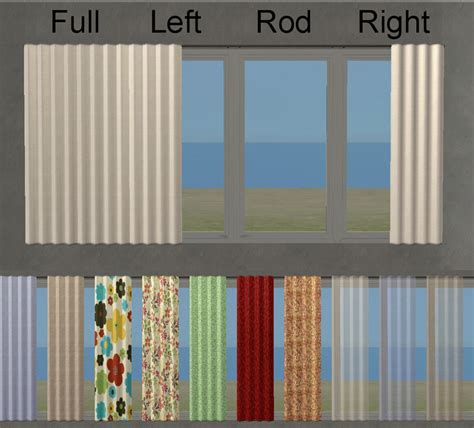expansion rods for curtains mod the sims nook seating living room set