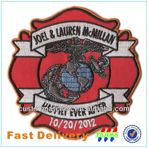 western heritage company border patrol patch custom patches embroidery for garment accessories buy