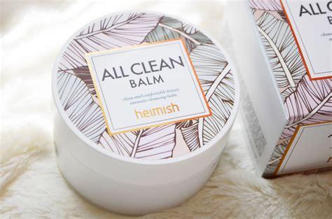 Heimish All Clean Balm 5gr review heimish all clean balm the point of vu