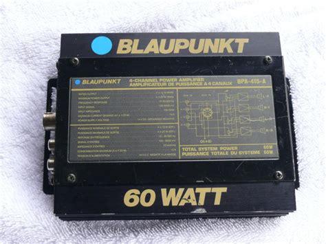 Power Lifier 60 Watt buy blaupunkt 60 watt power lifier bpa 415 a 4 channel 4x15 motorcycle in mineral bluff