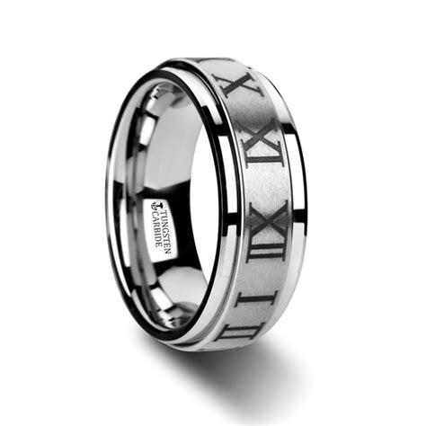 imperius raised center brush finish spinner ring