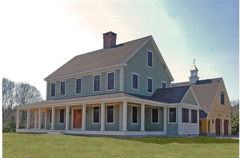 colonial farmhouse with wrap around porch classic colonial w wrap around porch