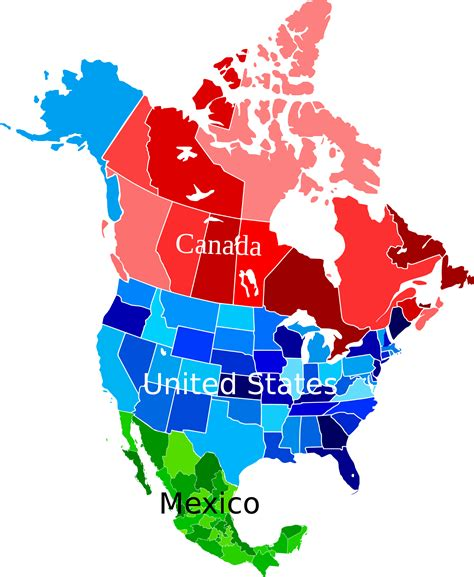 Mba In The Usa Vs South America by File America Map Coloured Svg Wikimedia Commons