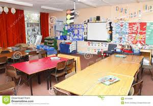 Kids Study Room Idea empty school classroom royalty free stock images image