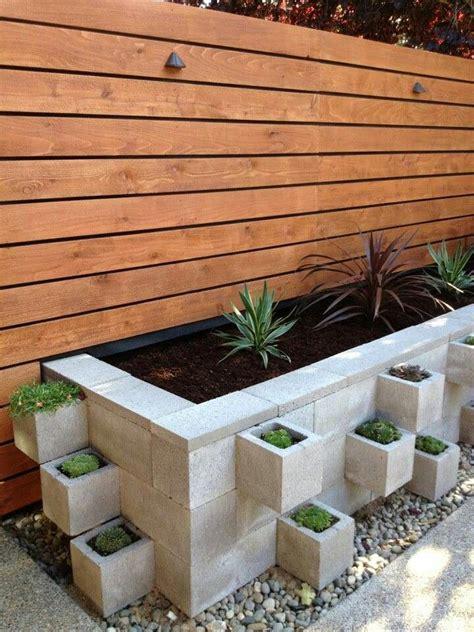 cinder block raised garden planter garden pinterest