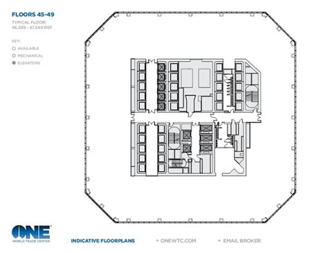 one world trade center floor plan world of architecture 1 world trade center by skidmore