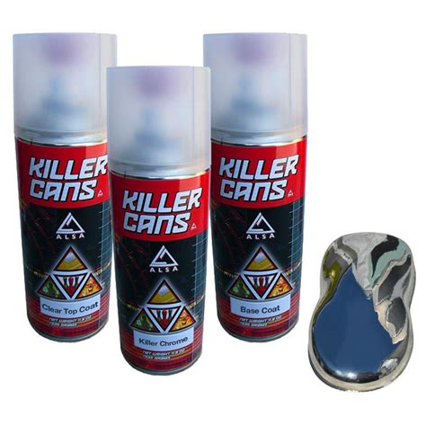 spray paint supplies kit alsa refinish killer chrome kit kc kch kit the home depot