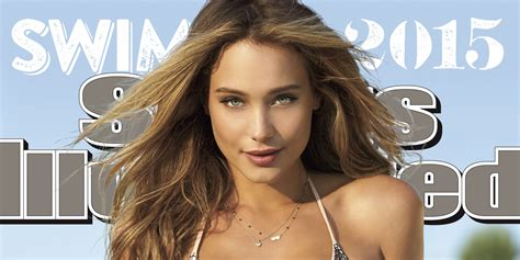 sports illustrated swimsuit issue 2015 hannah davis lands