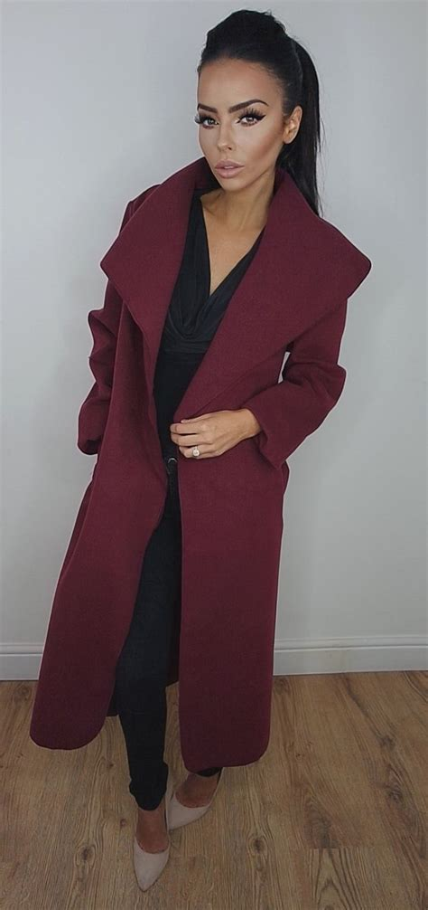 wine colored coat 1000 ideas about wine colored hair on human