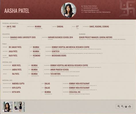 26 best biodata for marriage sles images on pinterest