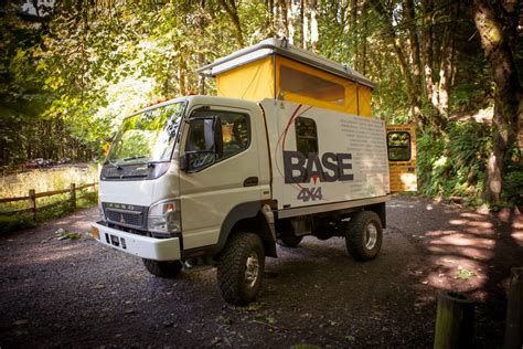 mitsubishi fuso 4x4 mitsubishi fuso base 4x4 expedition truck with pop top