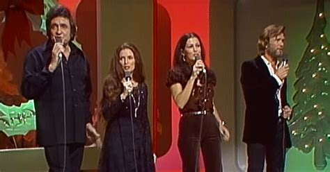 clip    johnny cash christmas special rolling stone