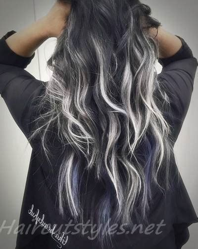 hair highlights for the spring with dark hair best black hair with highlights ideas 2018 hair highlights