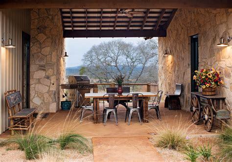 Ideas Decorating Garden Ridge Patio High Ridge Ranch Rustic Patio By Burleson