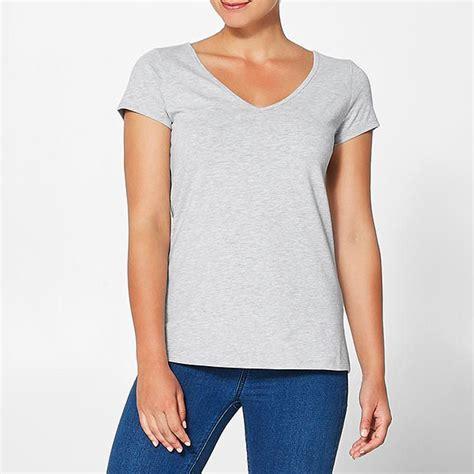 New Basic Blouse New Basic V Neck T Shirt Ebay