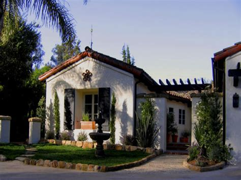 small house in spanish santa barbara style interior design santa barbara spanish