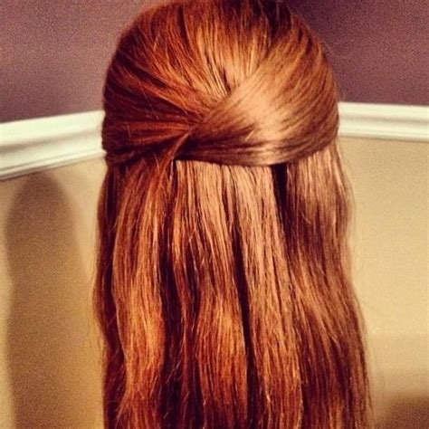 12 long haired styles that take 10 minutes or less bobby easy hairstyles for busy mornings