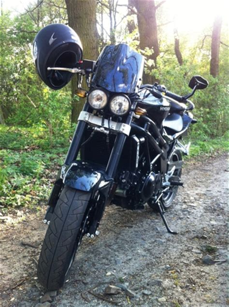 Motorrad Doppelscheinwerfer Umbau umbau cockpit mit doppelscheinwerfer hyosung treff forum