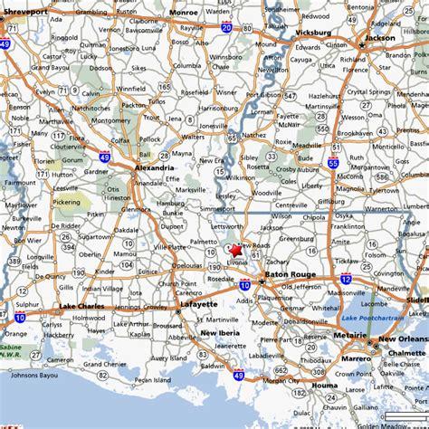 road map of louisiana louisiana parish map with roads swimnova