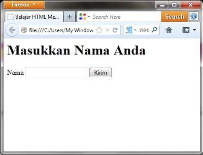 membuat textbox html belajar html membuat text box inspire use all